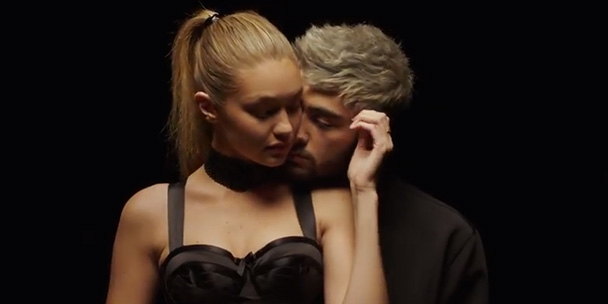gigi-hadid-and-zayn-malik-are-k-i-s-s-i-n-g-in-zayns-first-solo-music-video