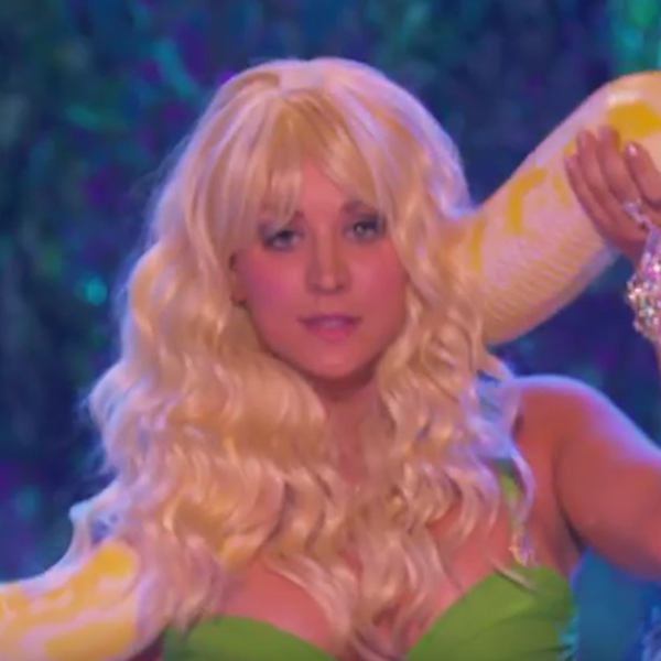 Kaley Cuoco channels her inner Britney Spears for 'Lip Sync Battle'