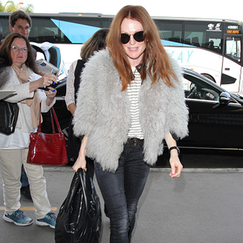 The delightfully fuzzy jacket all the celebrities are wearing