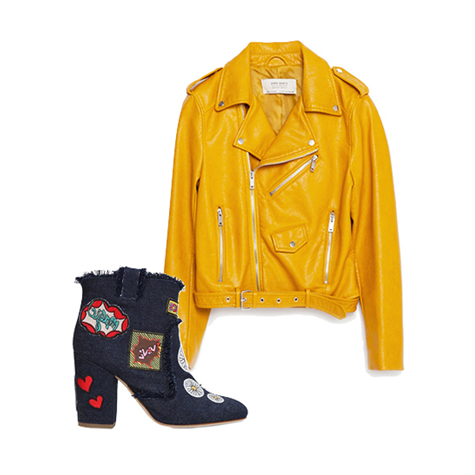The best biker jacket and boot combinations