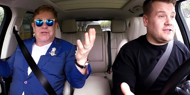 WATCH: Elton John's heart-warming Carpool Karaoke sesh