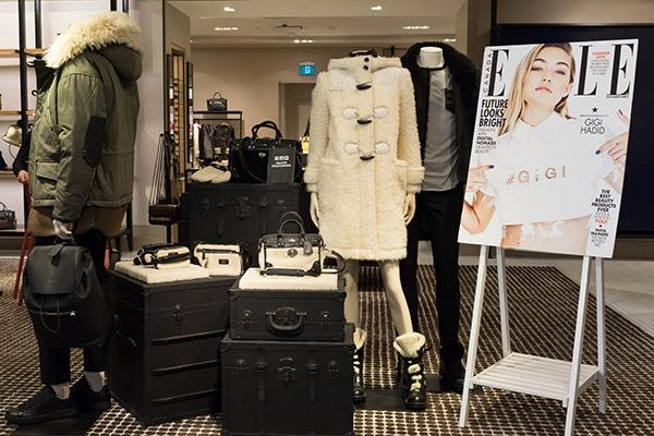 ELLE Canada x Coach Fall 2015 Collection Shopping Event