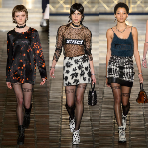 The 15 most unabashedly rebellious moments at Alexander Wang