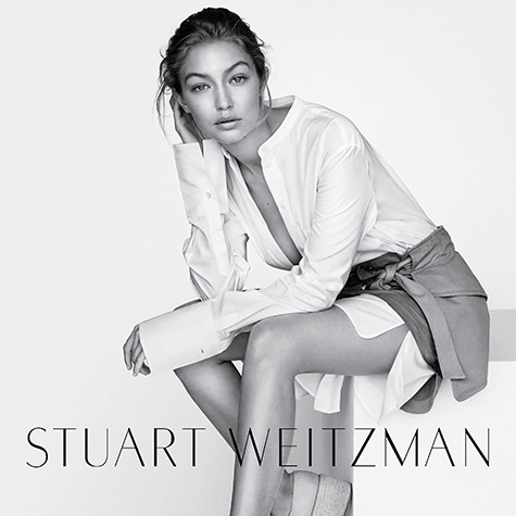 Get a first look at Stuart Weitzman's Spring 2016 Campaign