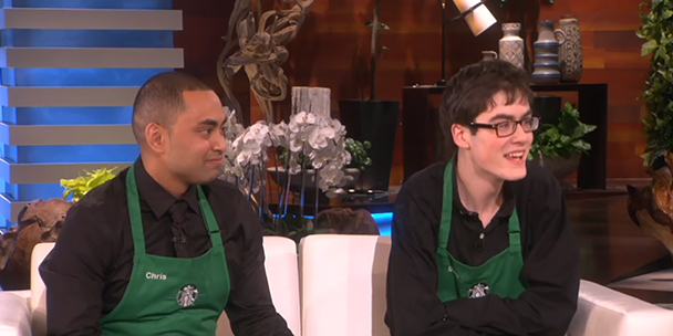 Canada's own Dancing Barista went on The Ellen Show and it was wonderful