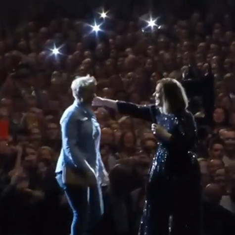 WATCH: Adele helped a fan propose on Leap Day