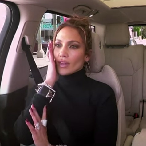 Jennifer Lopez's Carpool Karaoke will be the best 13 minutes of your day