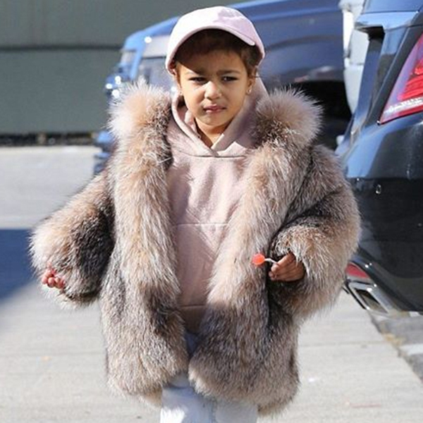 North West is a style icon