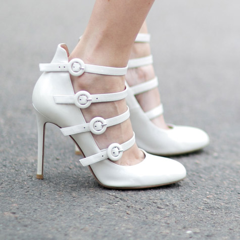 You're going to want to buy a pair of white shoes this season