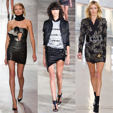 10 looks from Anthony Vaccarello that hint at Saint Laurent's new direction