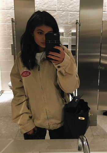Kylie Jenner is really pushing this whole Von Dutch thing