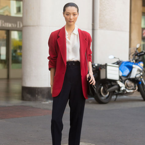 The new blazer silhouette that's here to stay