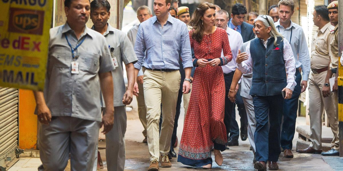 Kate Middleton just rocked a bargain boho maxi