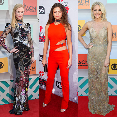 Our favourite looks from the iHeartRadio Music Awards and the ACM Awards