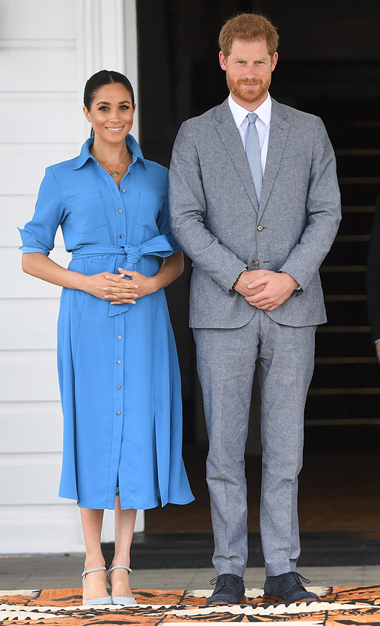 Prince Harry and Meghan Markle in Tonga.