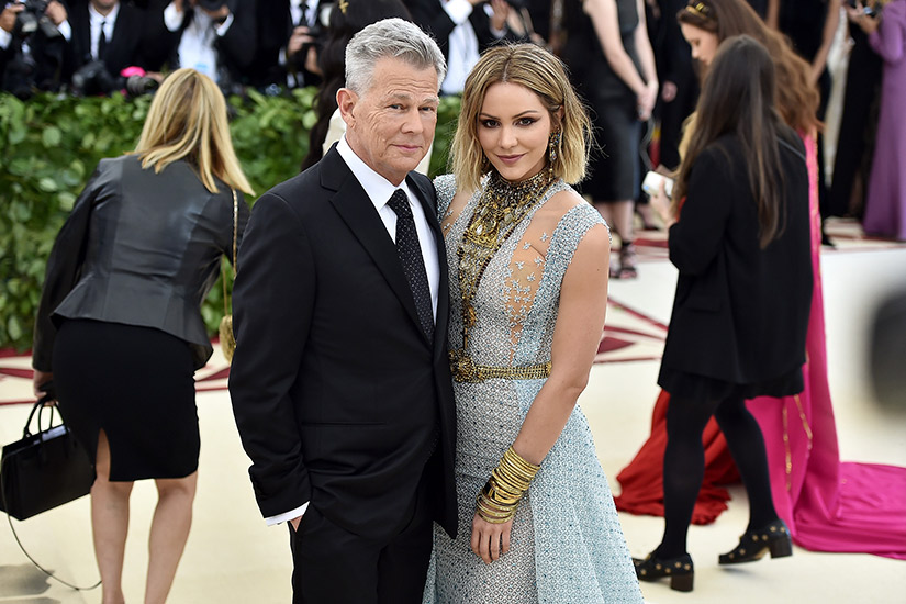 Katharine Mcphee And David Foster Are Married Elle Canada