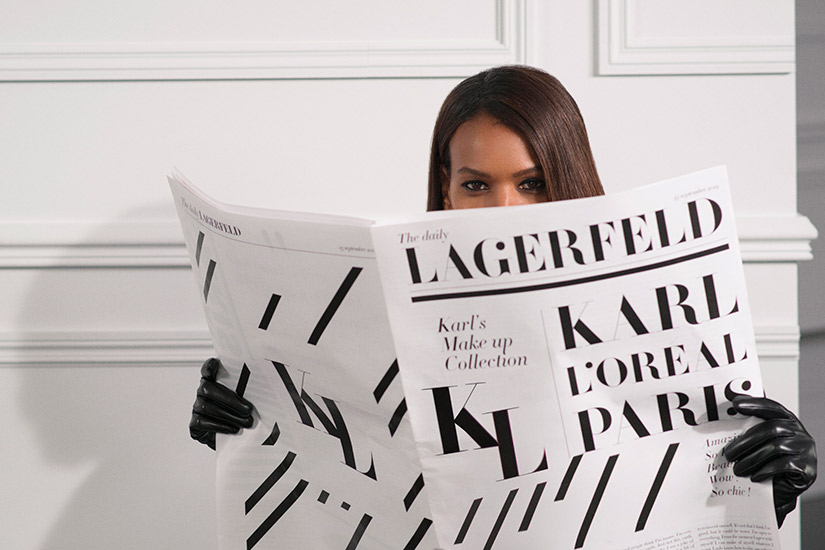 L'Oréal Paris Announces Collection with House of Karl Lagerfeld | Elle Canada