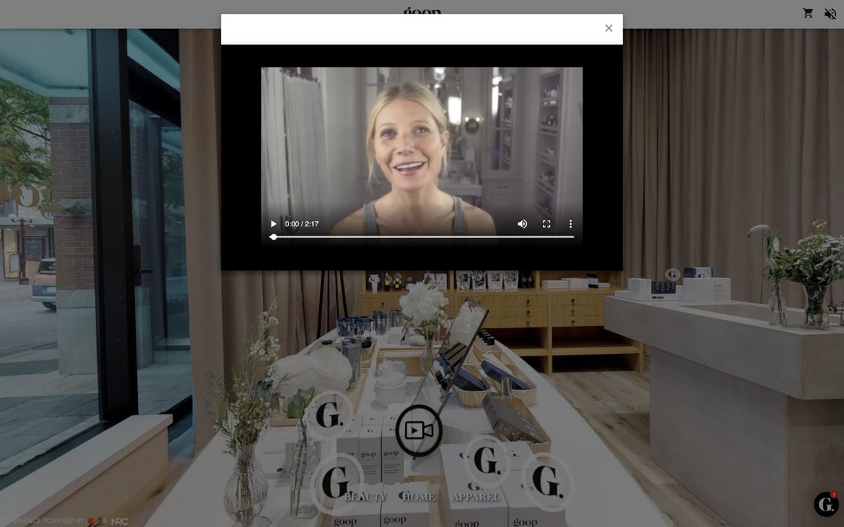 Goop Digital VR Experience Beauty Video