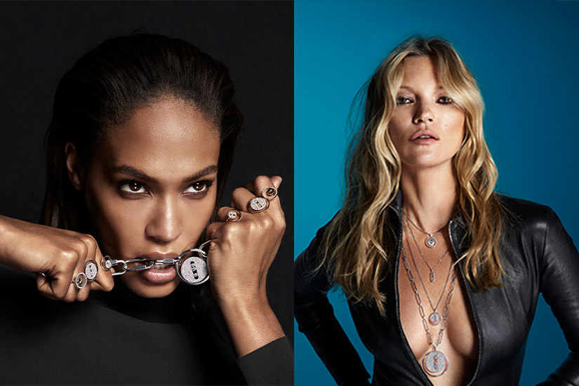 Kate Moss Joan Smalls Messika Lucky Move