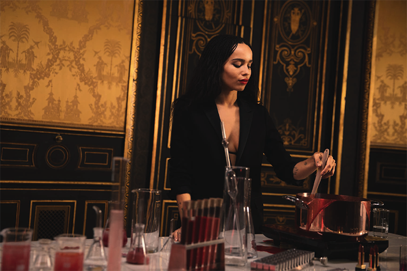 ZOË KRAVITZ X YSL BEAUTY