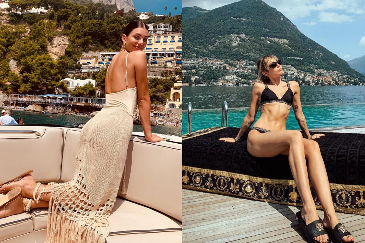 celebrity italy vacations
