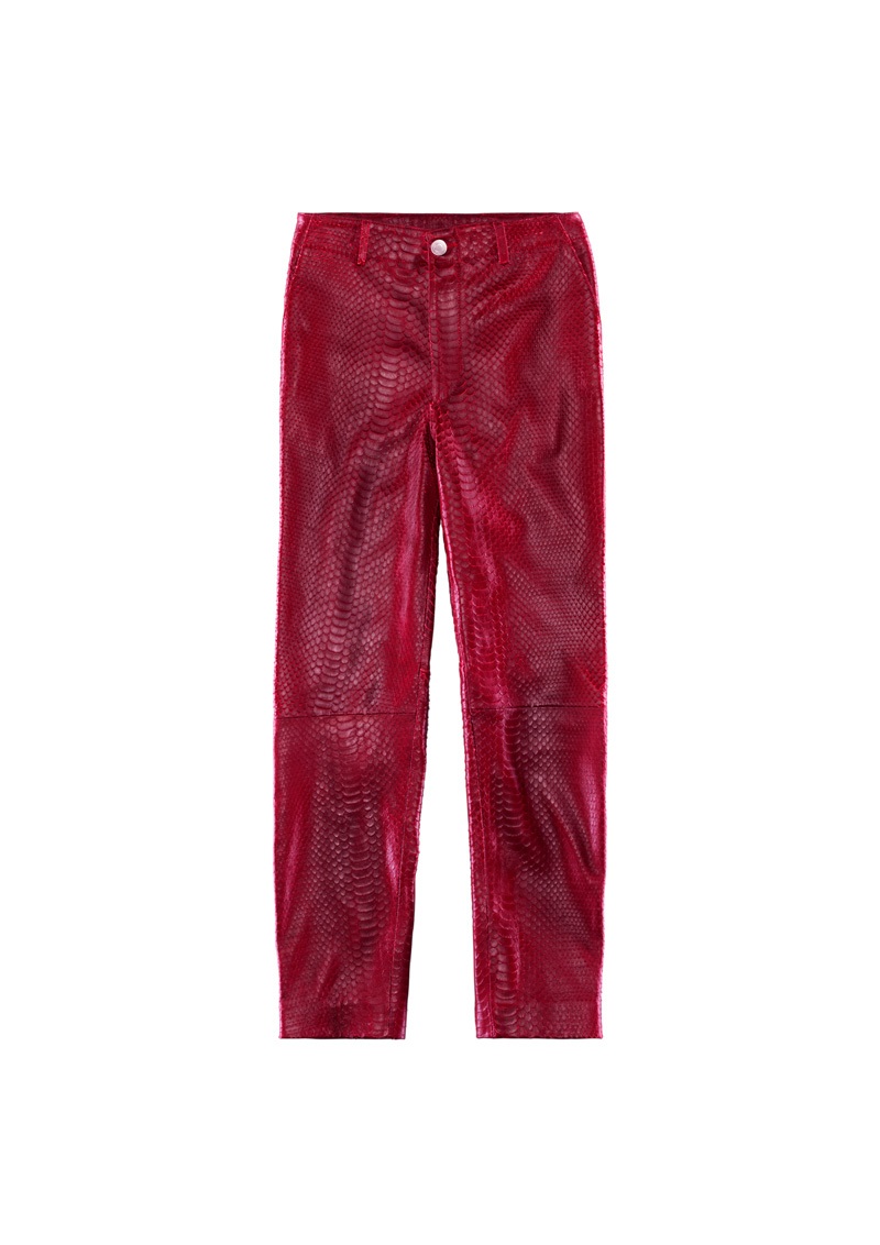 10. Trouy Leather Trousers