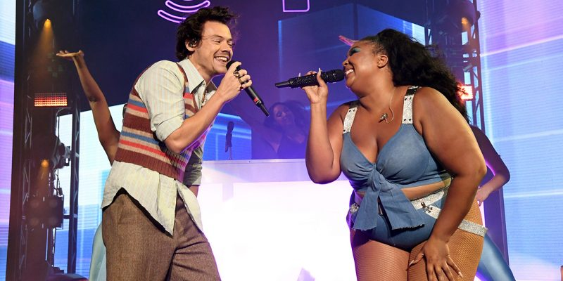 Lizzo-Harry-Styles-Perform-Concert
