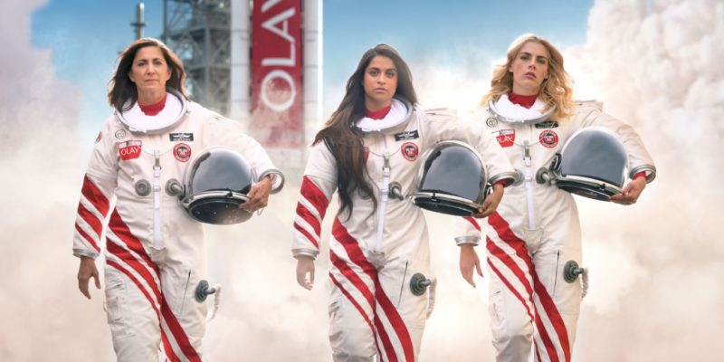 Lilly Singh, Busy Philipps and retired astronaut star in Olay's #MakeSpaceForWomen Super Bowl ad