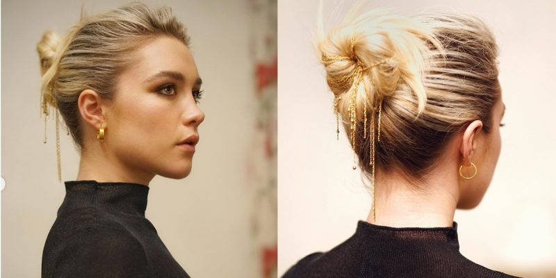 Florence-Pugh-Hairstyles-Updos-Inspiration