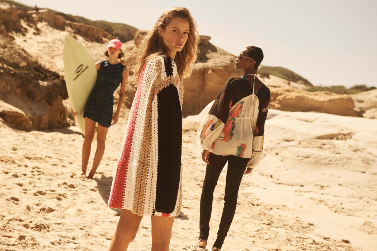 A campaign image from H&M Studio's Spring-Summer 2020 collection.