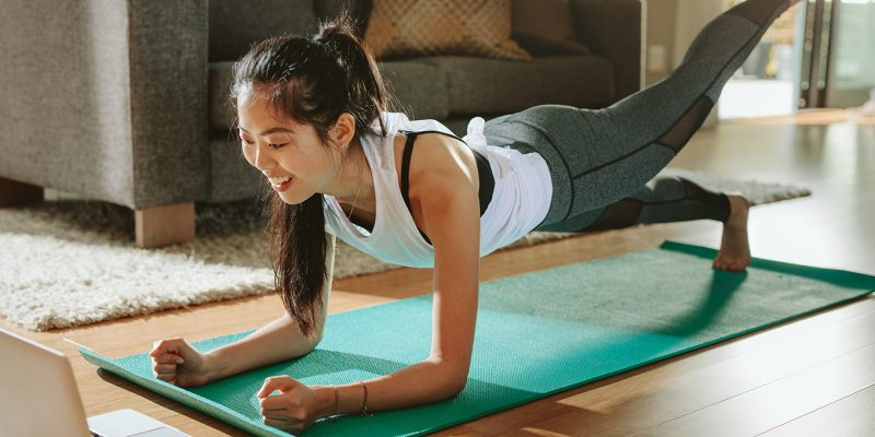 The best at-home workouts, no equipment required.