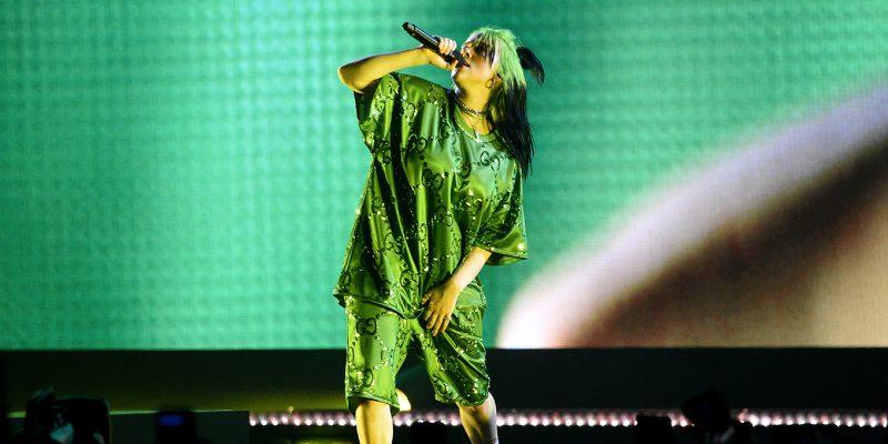 "Billie Eilish performs in Miami on the ""Where Do We Go?"" World Tour."