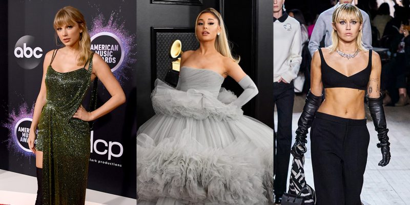 Taylor Swift, Ariana Grande and Miley Cyrus urge fans to take COVID-19 pandemic seriously.