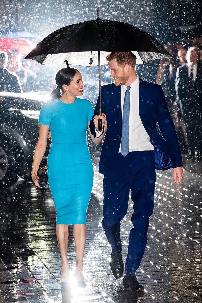 Prince Harry and Meghan Markle at the Endeavour Fund Awards.