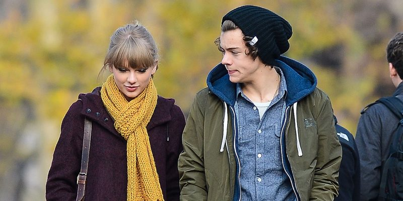Taylor Swift and Harry Styles in 2012.