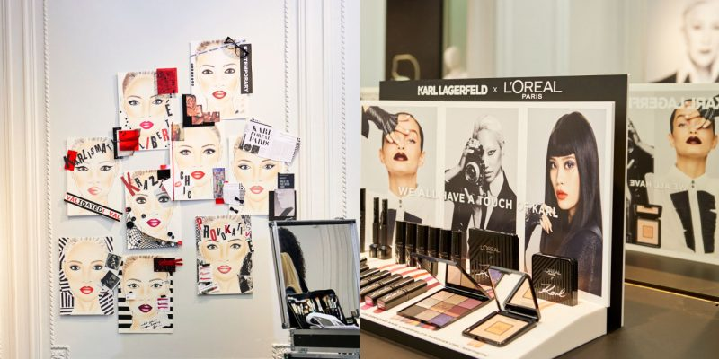 L'Oréal Paris x Karl Lagerfeld collection