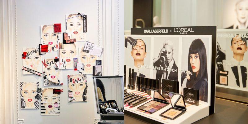 L'Oréal Paris x Karl Lagerfeld collection