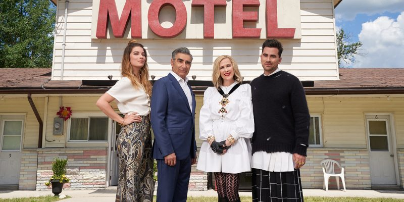 Schitt's Creek series finale will be followed by an hour-long special.