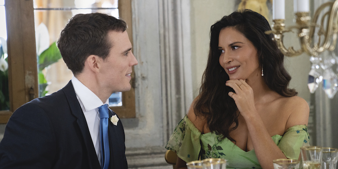 Sam Claflin and Olivia Munn in Love Wedding Repeat