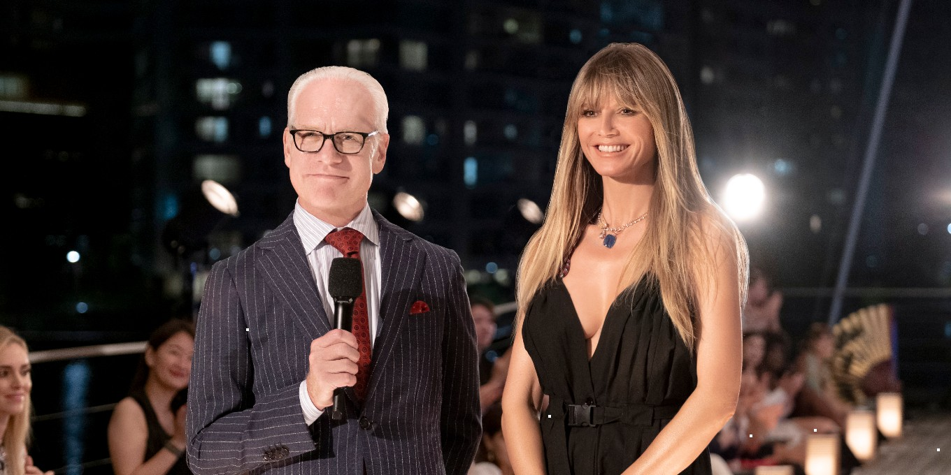 Heidi Klum And Tim Gunn Reunite On I Making The Cut I Elle Canada