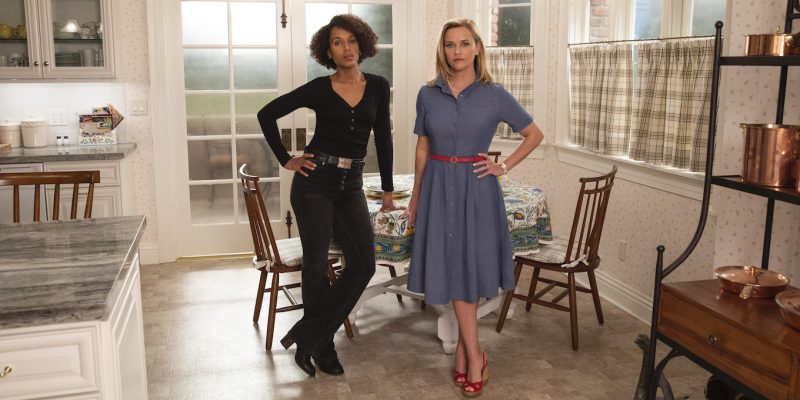 Kerry Washington and Reese Witherspoon, stars of Little Fires Everywhere