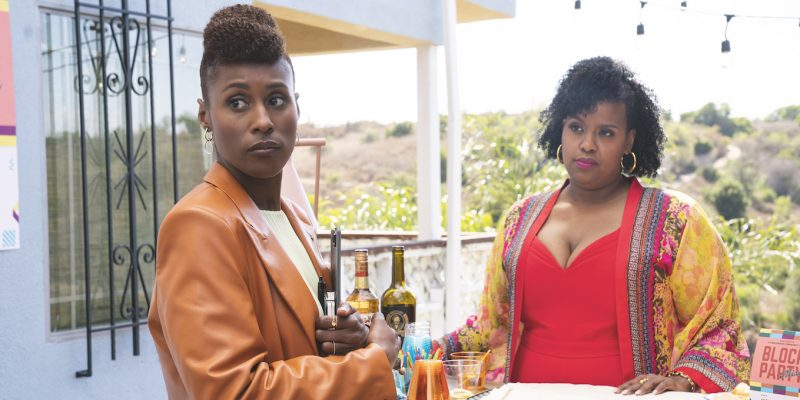 Issa Rae and Natasha Rothwell in Insecure