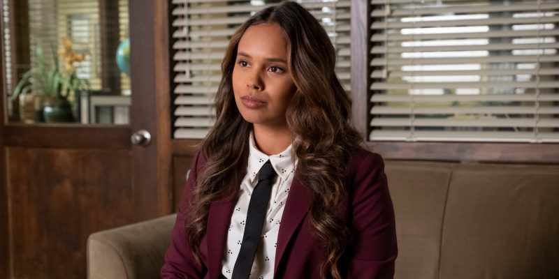 Alisha Boe in season 4 of Netflix's 13 Reasons Why