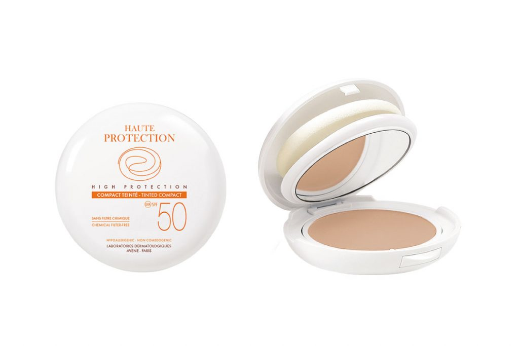 Avène High Protection Tinted Compact SPF 50 ($34.50)