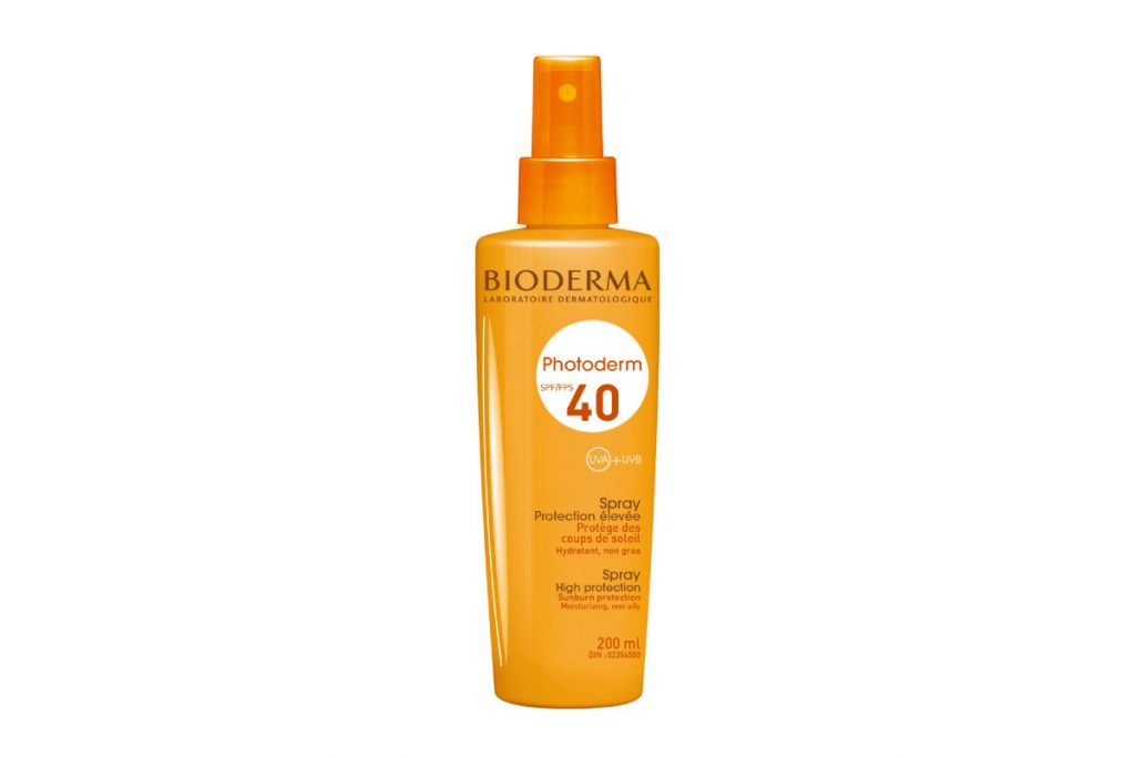 Bioderma Photoderm Spray SPF 40 ($30)