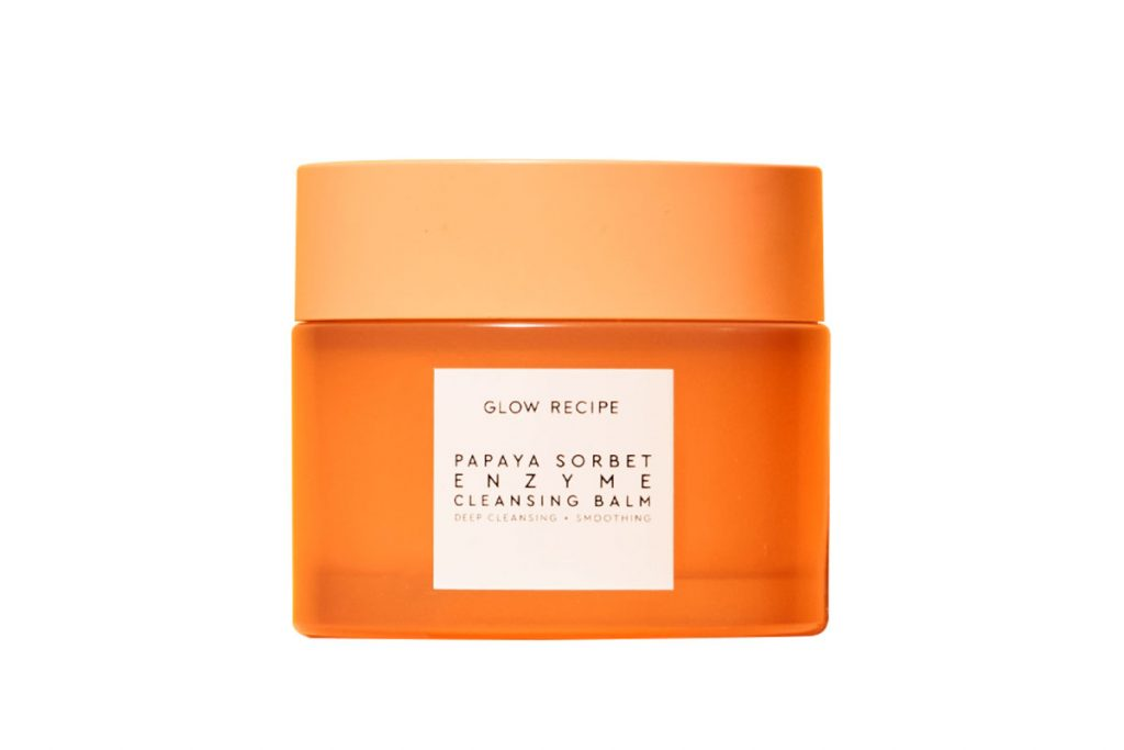Glow Recipe Papaya Sorbet Smoothing Enzyme Cleansing Balm ($42)