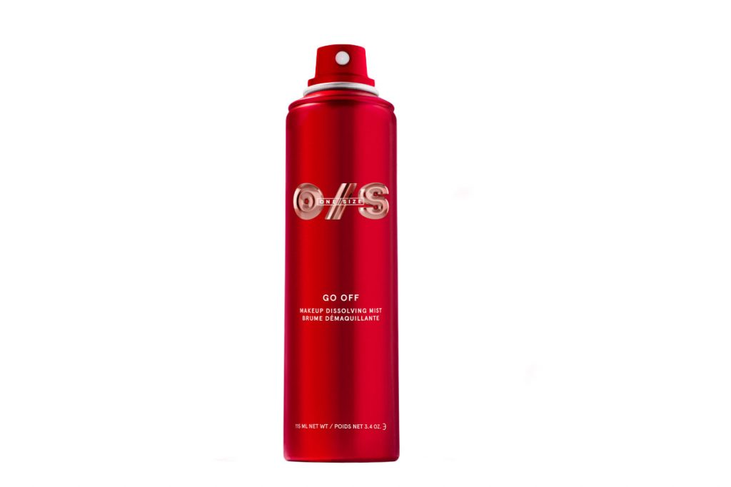 One/Size by Patrick Starr Go Off Makeup Dissolving Mist ($30)
