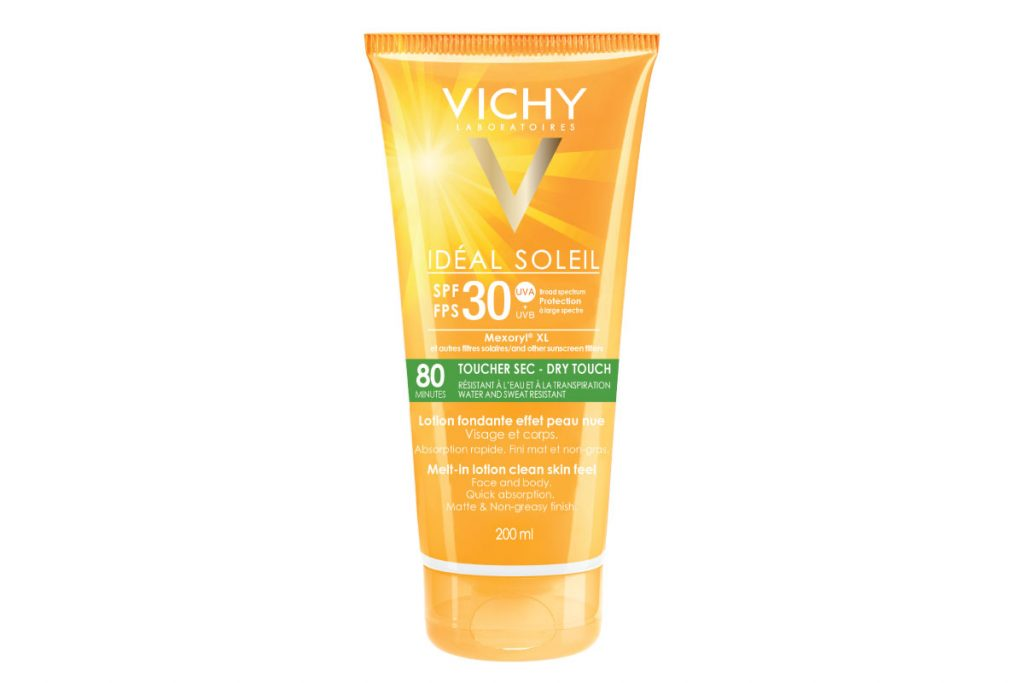 Vichy Ideal Soleil Dry Touch Body SPF 30 ($30)