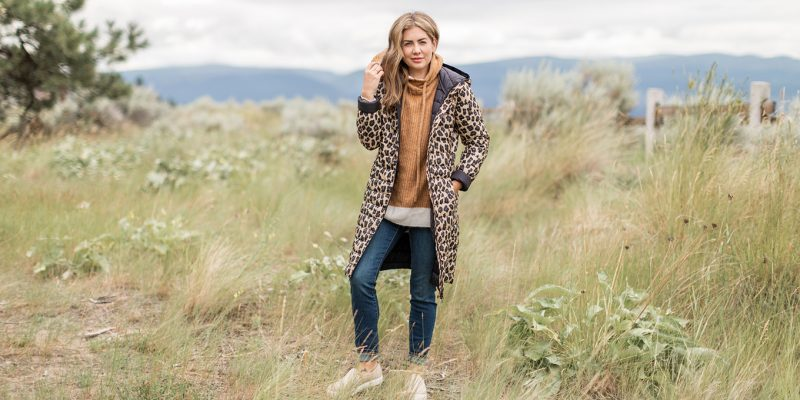 Joe Fresh x Jillian Harris Jilly Jacket in Leopard Print
