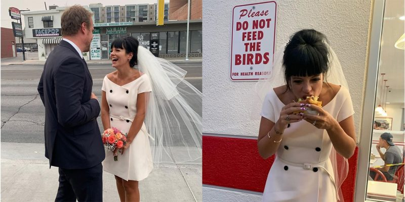 Lily Allen weds David Harbour in Vegas